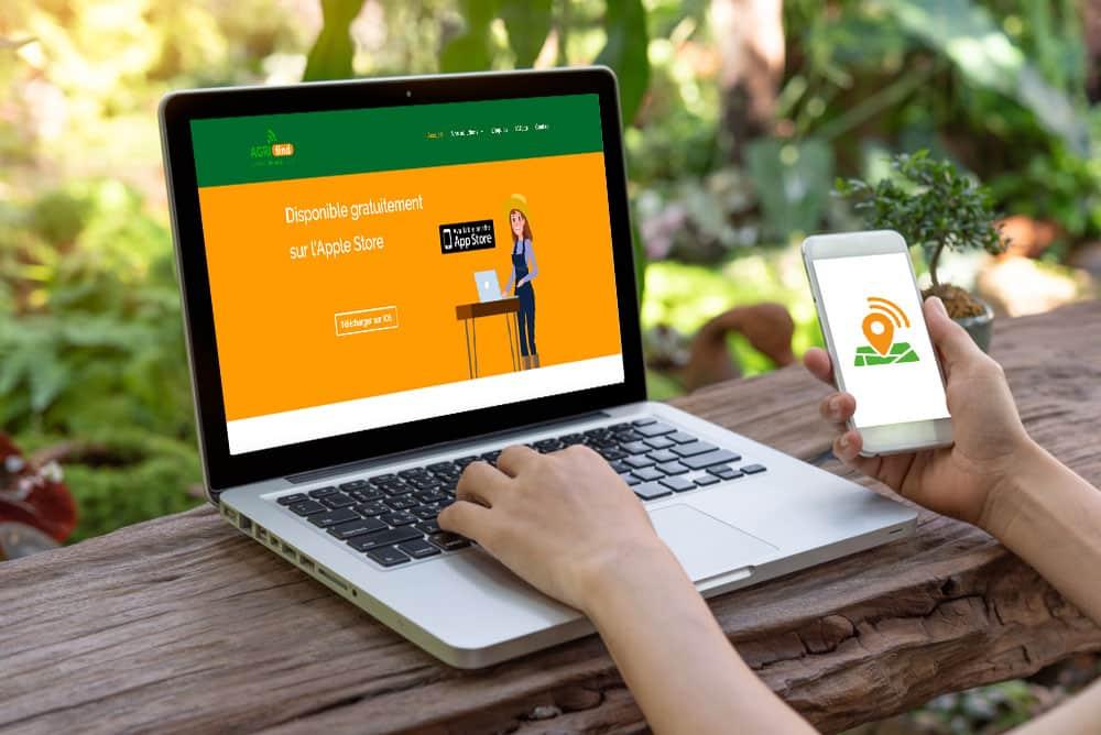Site Web Agricole